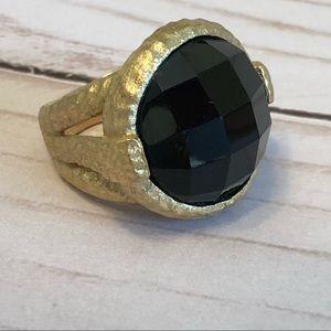 Rivka Friedman Onyx Ring
